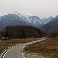 Photos: 今朝の甲斐駒ケ岳。風が冷たい。