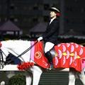写真: 川崎競馬の誘導馬05月開催 こいのぼり青Ver-120516-04-large