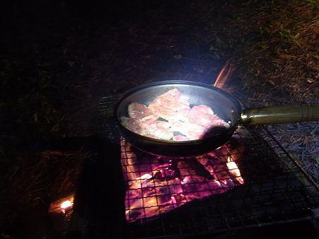 フライパン焼き肉