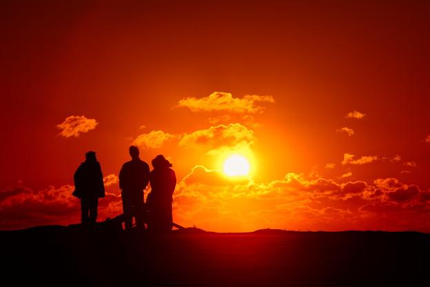 写真: 『初日の出に思いを込めて。。。』