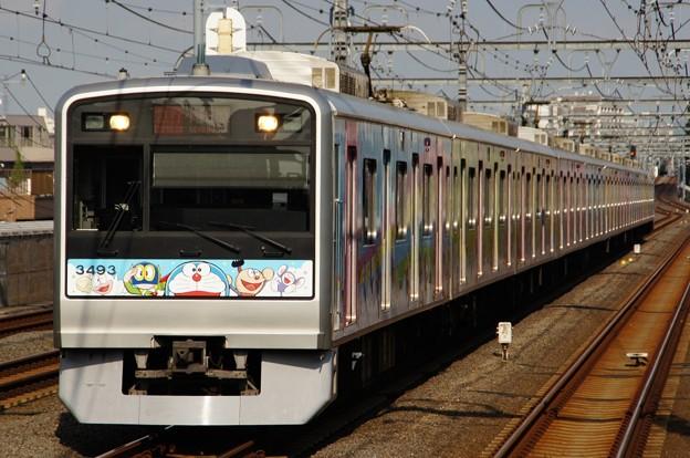 特別電車「小田急 F-Train」となった3093F
