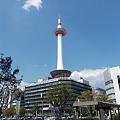 写真: 京都タワー