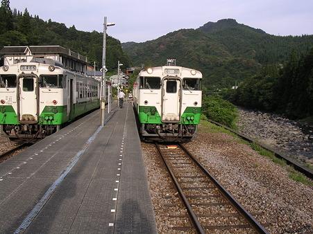 大白川駅ホーム1