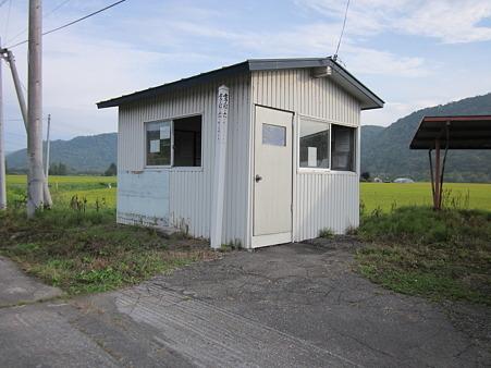 愛山駅待合室