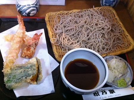 天ぷら蕎麦(大盛り)