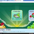 写真: Chromeアプリ:Angry Birds(ステージ選択画面)