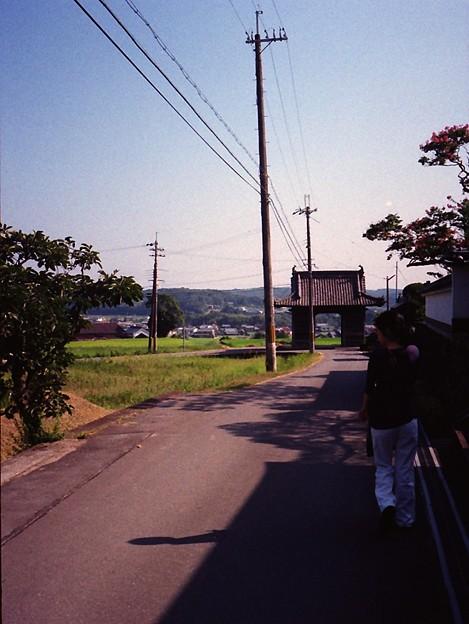 禅瀧寺参道