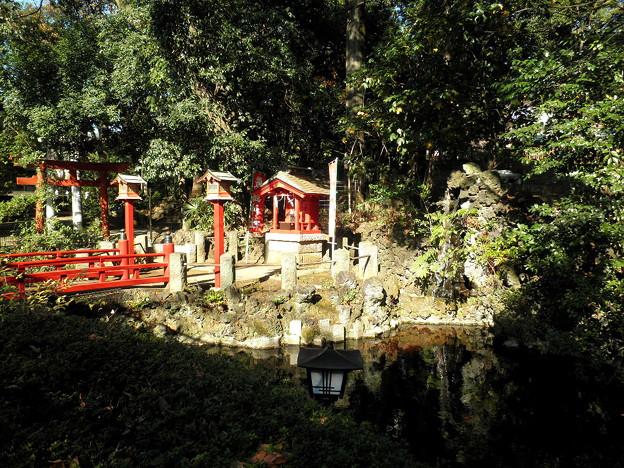 世田谷線:宮の坂駅界隈_世田谷八幡宮-03厳島神社b