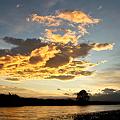 Photos: 福島潟の朝雲