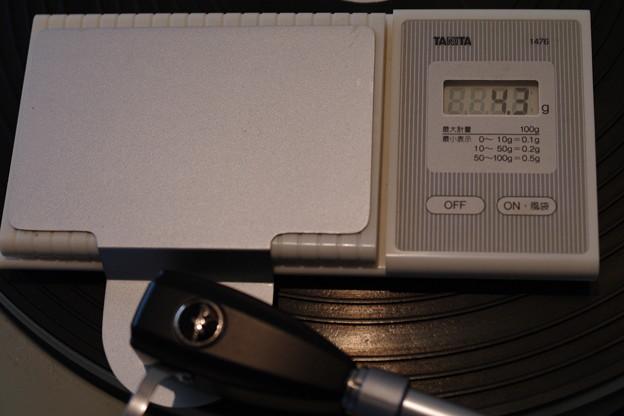 Photos: カートリッジをSP用に…針圧は重めに
