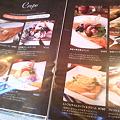 Photos: 渋谷のカフェ「シルクレーム」メニュー(クレープ)