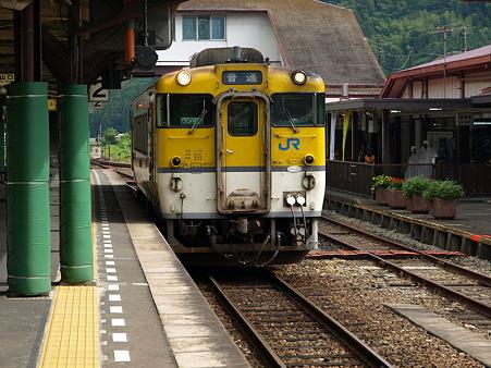キハ40山口線(津和野駅)4