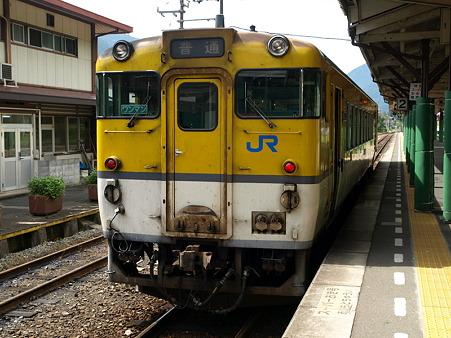 キハ40山口線(津和野駅)12