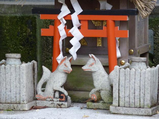 稲荷社(屋敷神 台東区池之端) 4