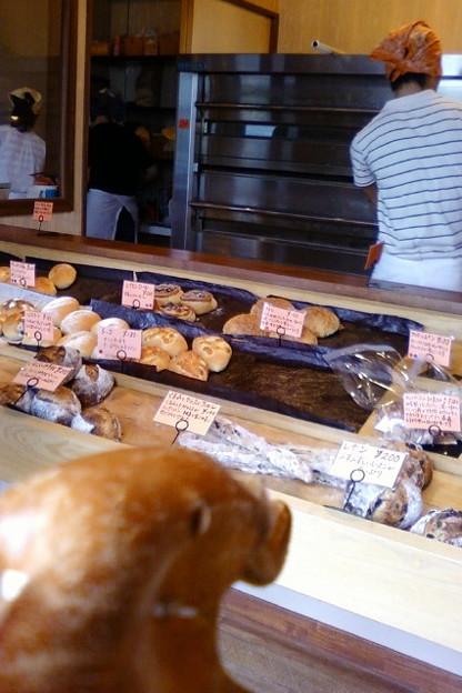 小さなパン屋さんです