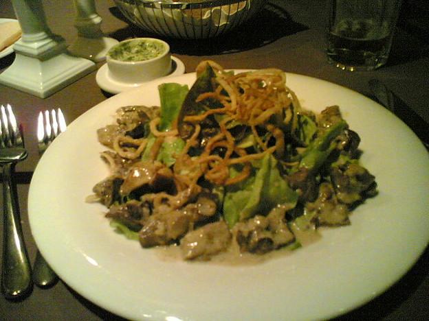 Photos: レバーのサラダ
