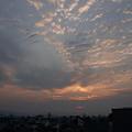 写真: 2012年5月21日、明け方