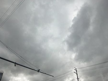 曇ったり(風強い)