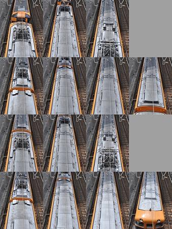 近鉄12400系12401F(NN01)屋根上(名古屋方より撮影) 2010.08.07
