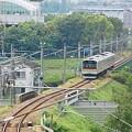 Photos: 浅川を渡る電車