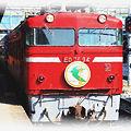 Photos: 鹿児島本線 熊本駅 寝台特急 はやぶさ