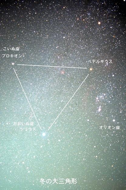 冬の大三角B