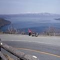十和田湖 発荷峠にて