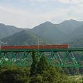 Photos: 201系 山を行く