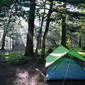 写真: 平湯キャンプ場