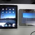 写真: 左が本物、右がニセモノ。中国で1 万円くらいで購入したとか。1 ヶ月く...