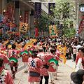 Photos: 繁華街の流し踊り