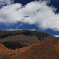 初冬の早池峰山
