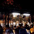 写真: 松焚祭・裸参り
