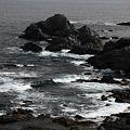 潮岬の波の音