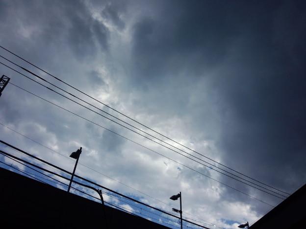 天気の境目