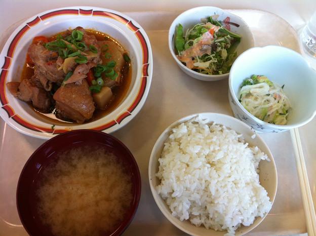 写真: 20120628昼食