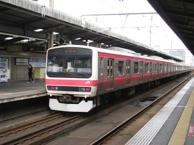 京葉線 209系 千ケヨ34編成 検見川浜駅