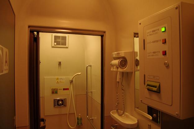 Photos: s7278_トワイライトエクスプレス_シャワー室内部