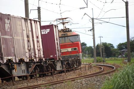 羽越本線貨物列車EF510