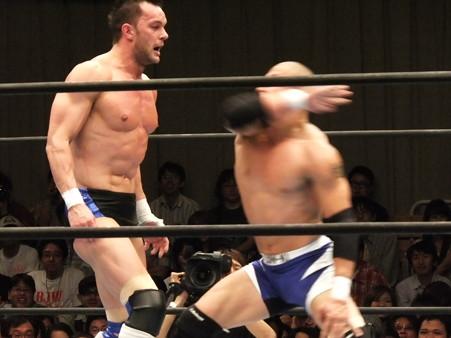 新日本プロレス BEST OF THE SUPER Jr.XIX 準決勝戦 Aブロック2位 プリンス・デヴィット vs Bブロック1位 ロウ・キー (6)