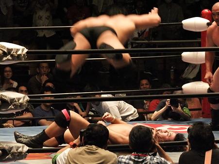 全日本プロレス 後楽園ホール 20110712 (39)