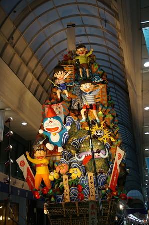 13 2014年 博多祇園山笠 飾り山笠 ドラえもん 川端中央街 (2)
