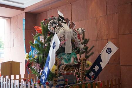 2014年 博多祇園山笠 東流の舁き山笠 四神守天而人護郷土(龍の舁き山) (5)