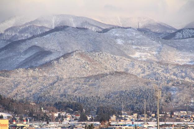 里山の雪景色ー1
