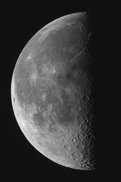 下弦の月(^^)