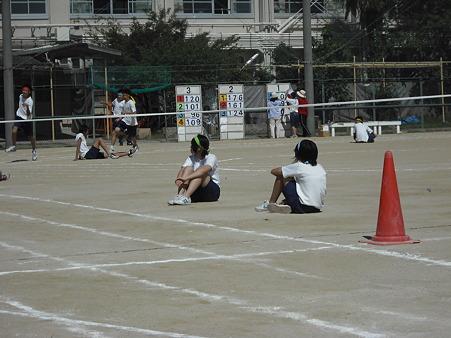 体育祭(200m走)