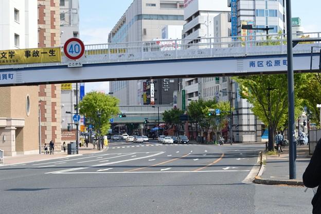 写真: A-2 広島駅南口第三駐輪場前サイクルポート (遠景)