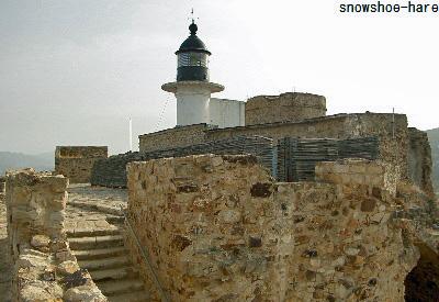 城塞の灯台