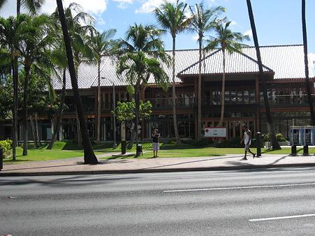 2010ハワイ。ハードロックカフェ建設中??