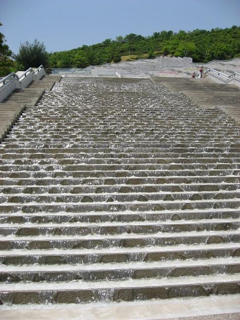 階段状の水場